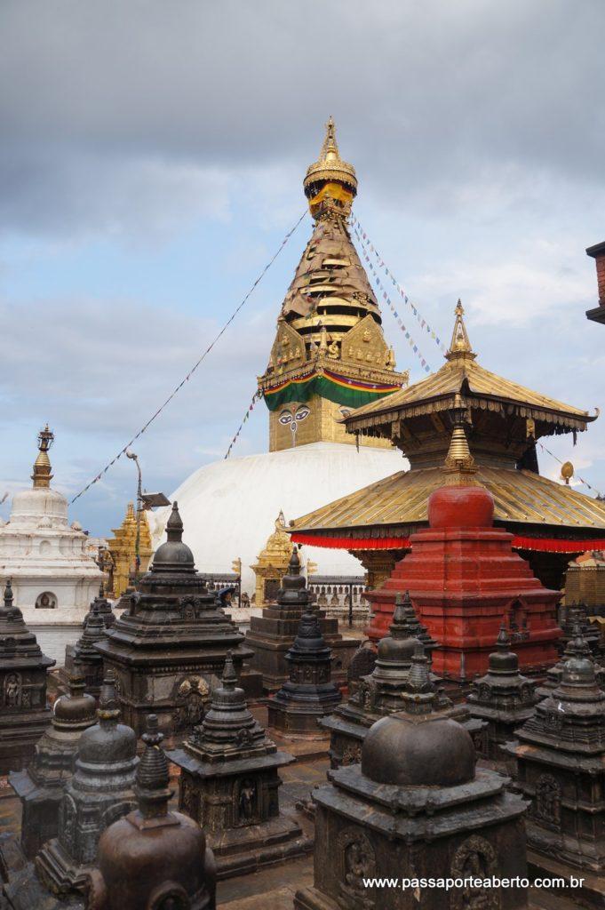 Estupa principal de Swayambhunath