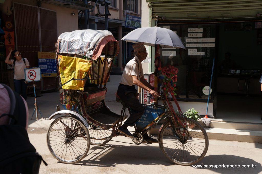 Meio de transporte bem comum!