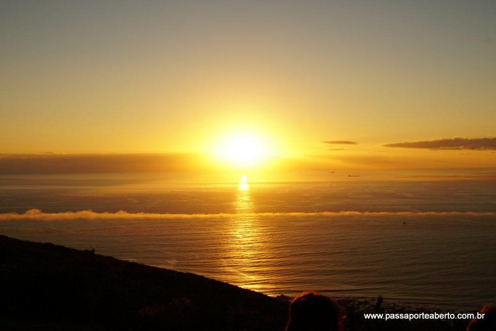Pôr do Sol incrível!