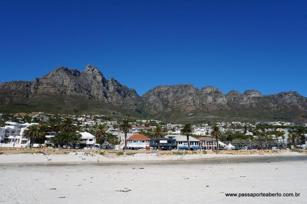 Praia de Camps Bay!