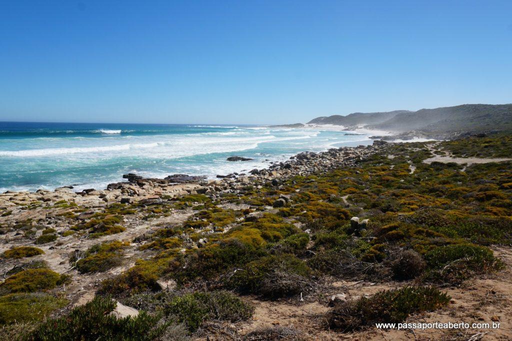 Paisagem no caminho para o Cabo da Boa Esperança