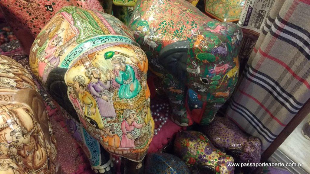 Os elefantes eram maravilhosos! Pena que não cabia na mala!