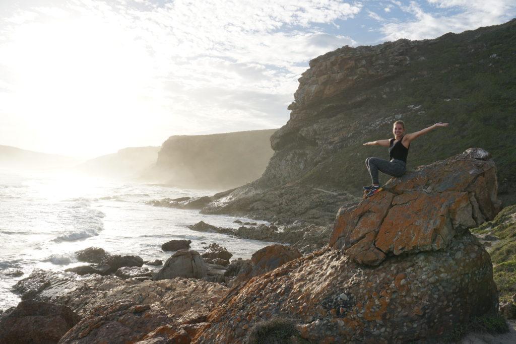 No Robberg Nature Reserve, África do Sul!