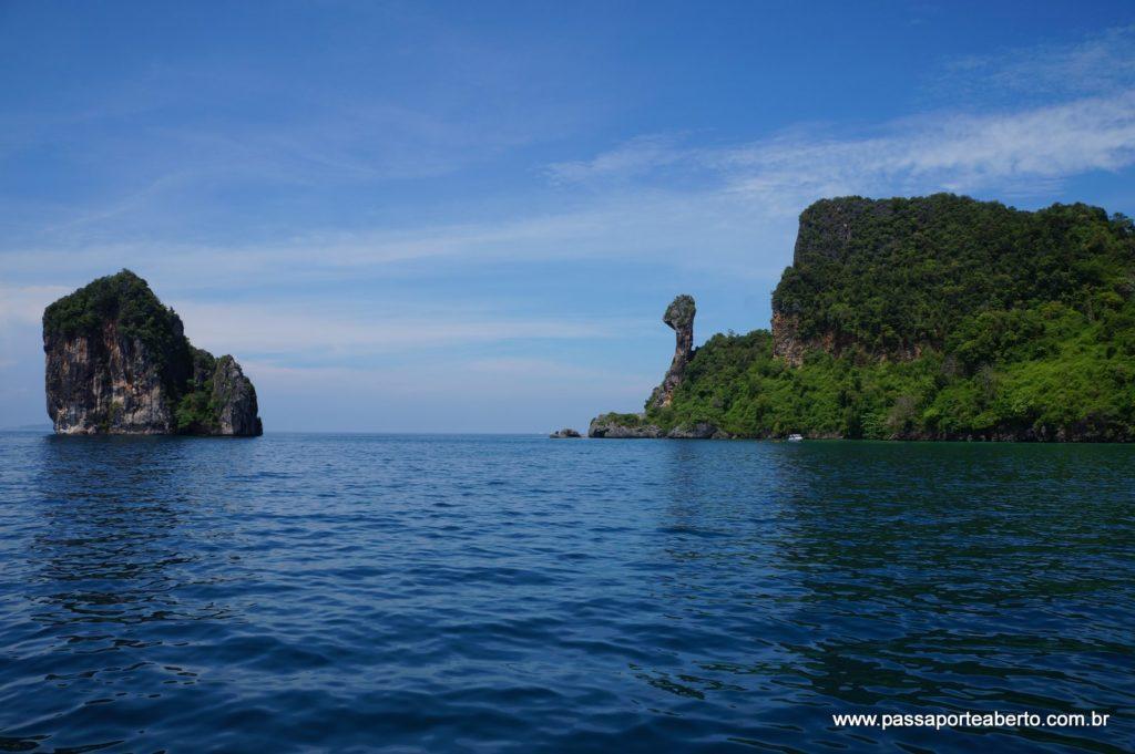 Vista da Chiken Island!