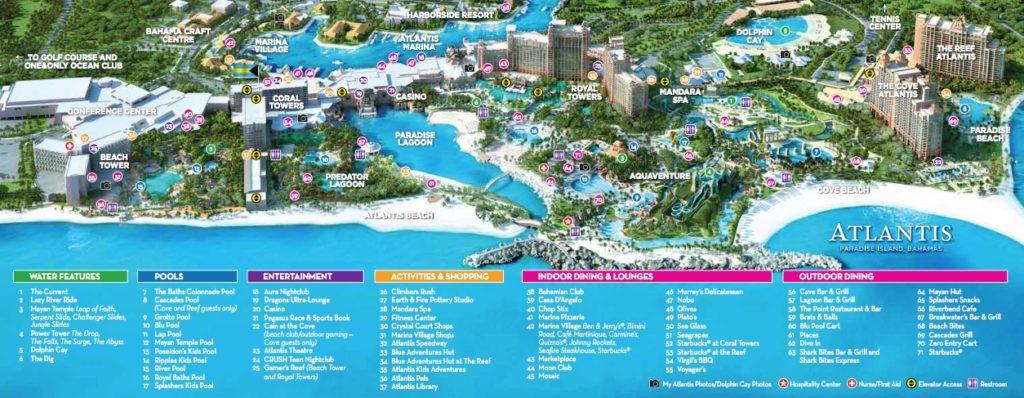 Atlantis-Resort-Map