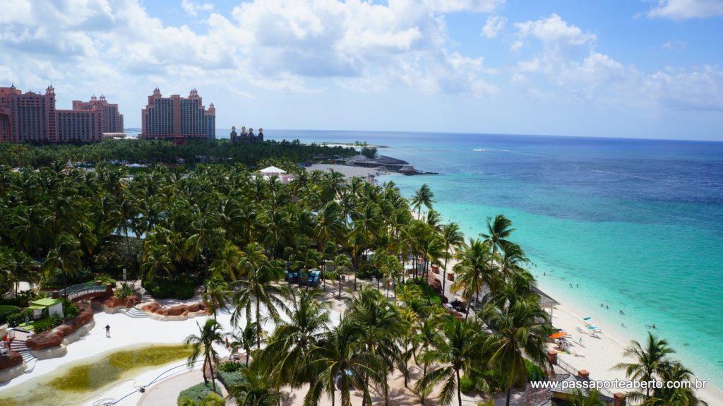 Vista do nosso quarto no Beach Towers