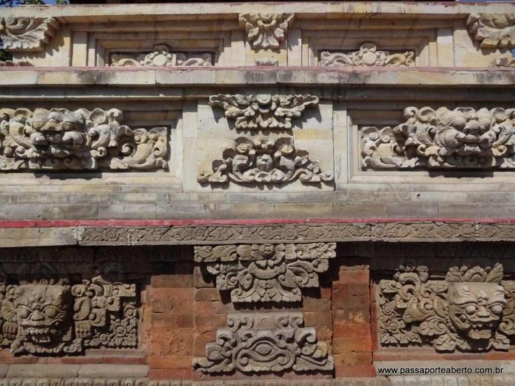 trabalhado dos muros em Bali!