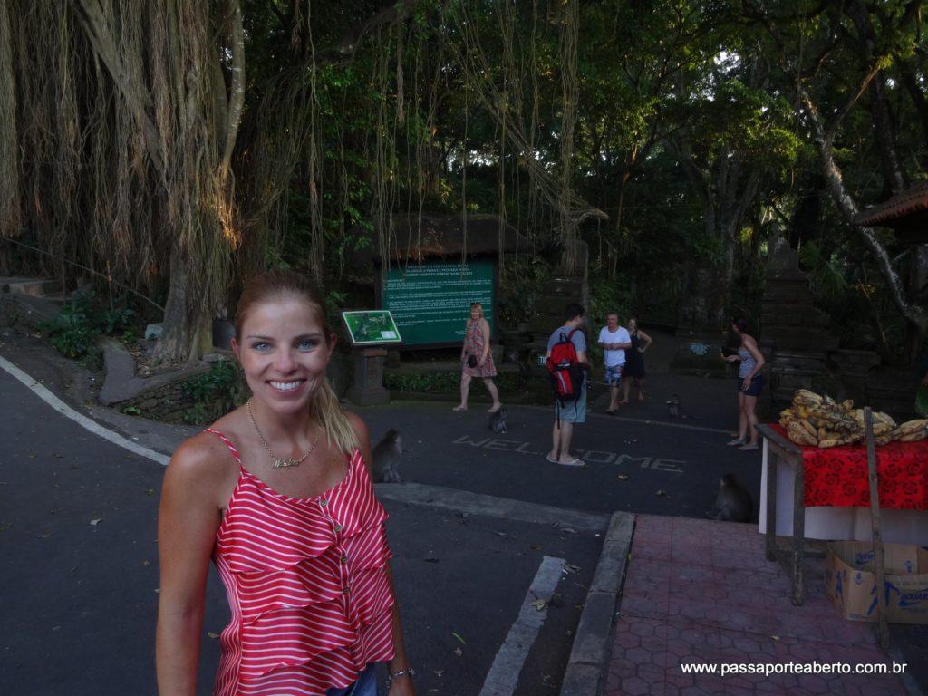 Entrada da Floresta dos Macacos!