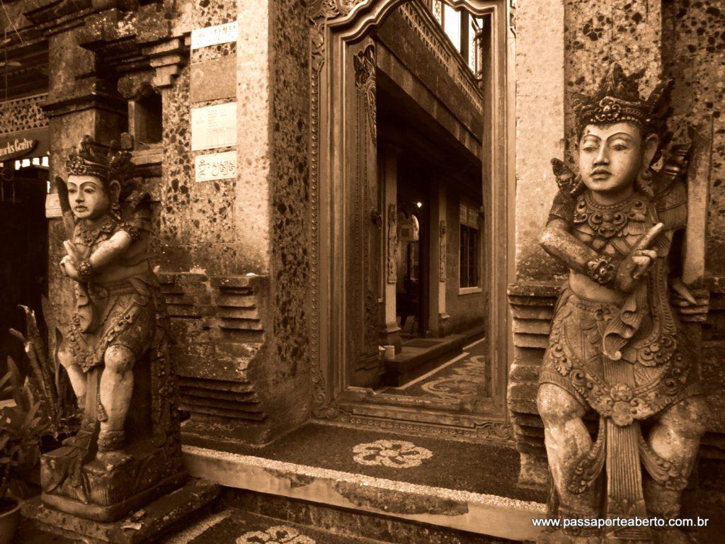 Amei a arquitetura de Ubud!