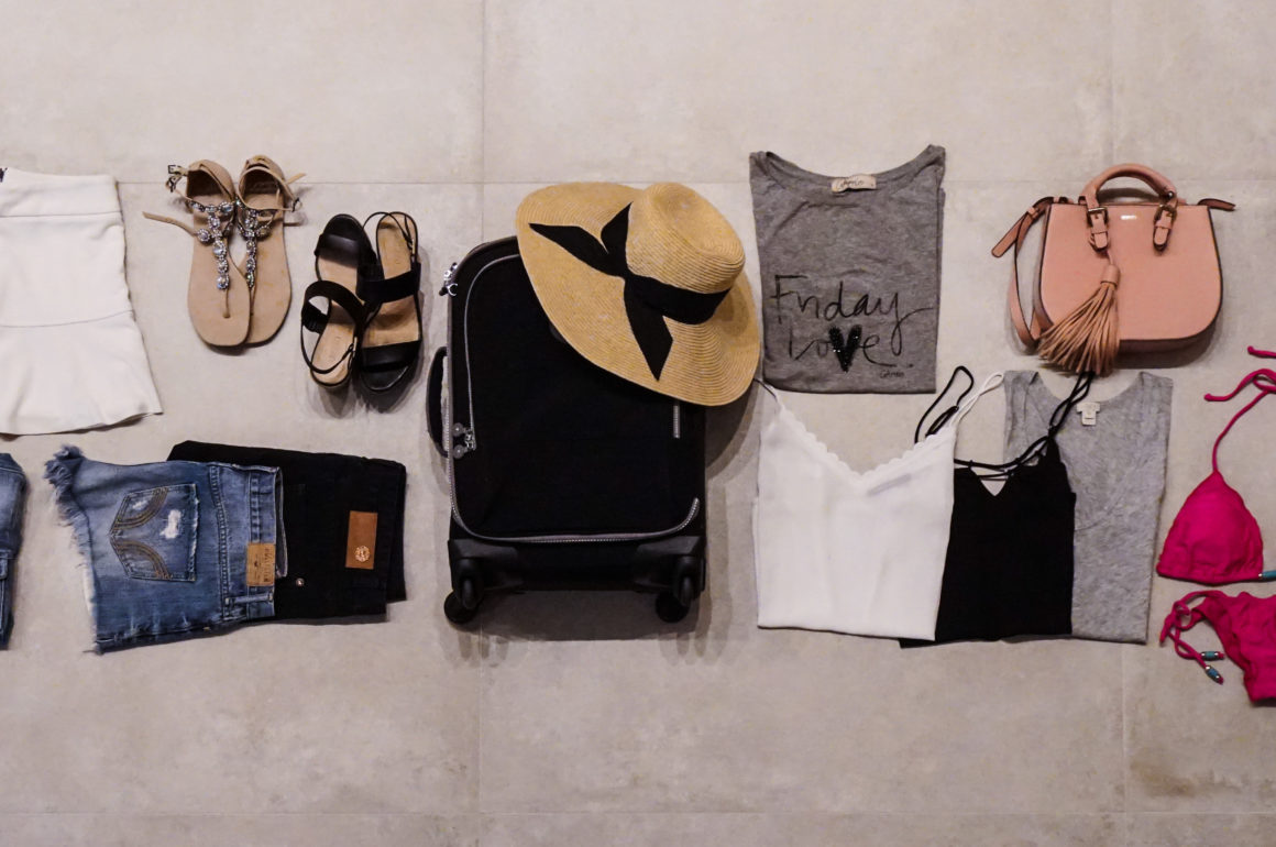 Viajando apenas com mala de mão usando a regra 5 e36c5c36688